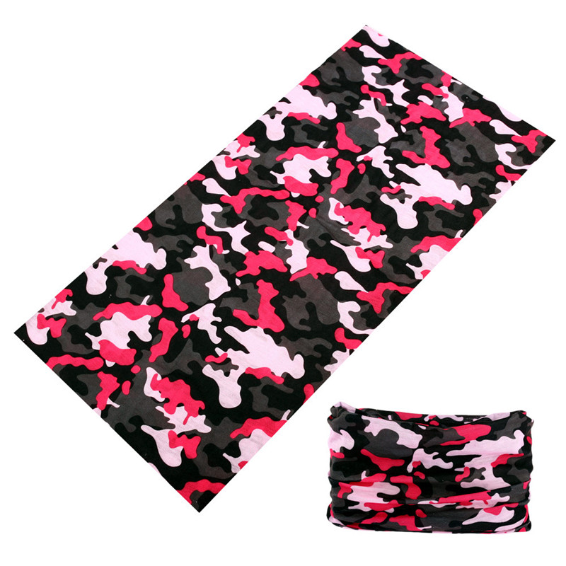 Unisex Bicycle Running Face Shield Seamless Bandana Fishing Shemagh Military Buffe Sports Neck Gaiter Camouflage Shawl Headband Back To Search Resultshome