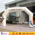 6meters cheap Inflatable arch, hot sale white inflatable racing arch customize availableBG-A0875 toy