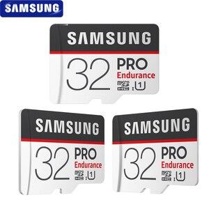Image 2 - سامسونج بطاقة الذاكرة مايكرو SD بطاقة الموالية التحمل 100 برميل/الثانية 32GB 64GB 128GB SDXC SDHC الدرجة 10 TF بطاقة C10 UHS I ترانس فلاش بطاقة