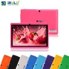 Оригинал iRULU X1 EXpro 7 дюймов Планшетный ПК Google Andriod 4.4 Quad Core Graphics Таблетки 1024×600 Две Камеры Wi-Fi 8 Г ROM