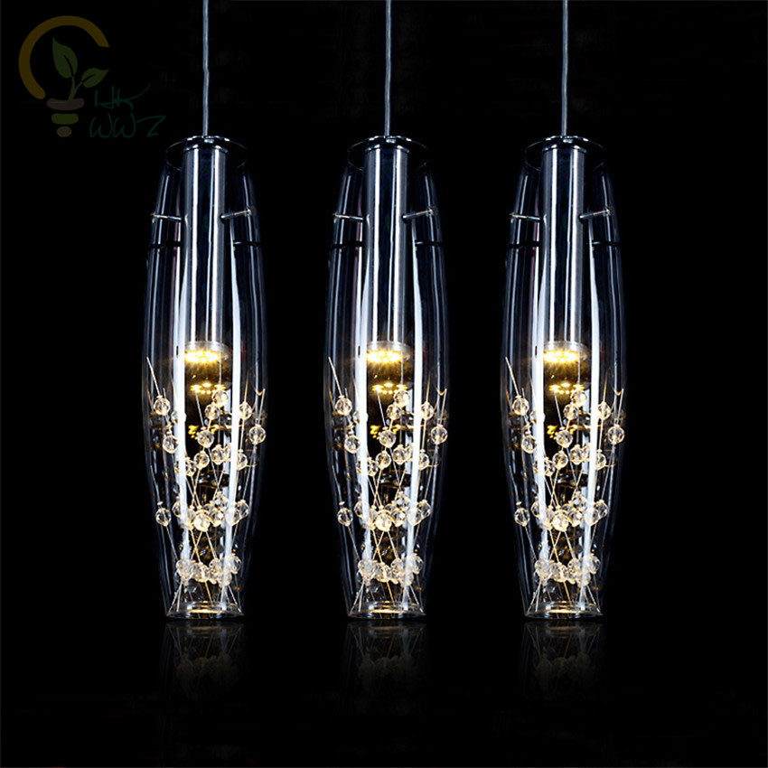 AC110-220V European Crystal LED Pendant Lights Modern Creative Dining Room Pendant Lamp For Bedroom Bar Cafe Restaurant HanglampAC110-220V European Crystal LED Pendant Lights Modern Creative Dining Room Pendant Lamp For Bedroom Bar Cafe Restaurant Hanglamp
