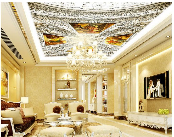 3d ceiling murals wallpaper Relief picture of Jesus Christ living room ceiling frescoes wallpaper 3d ceiling european church square ceiling frescoes murals living room bedroom study paper 3d wallpaper