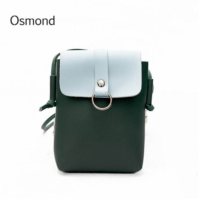 Osmond Phone Crossbody Bag For Women S Mini Messenger Shoulder Leather Small Clutches Smartphone Pockets