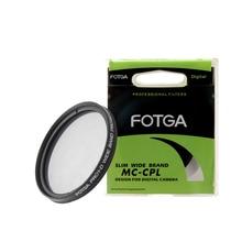 FOTGA filtro Polarizador circular superfino CPL, 46/49/52/55/58/62/67/72/77/82mm