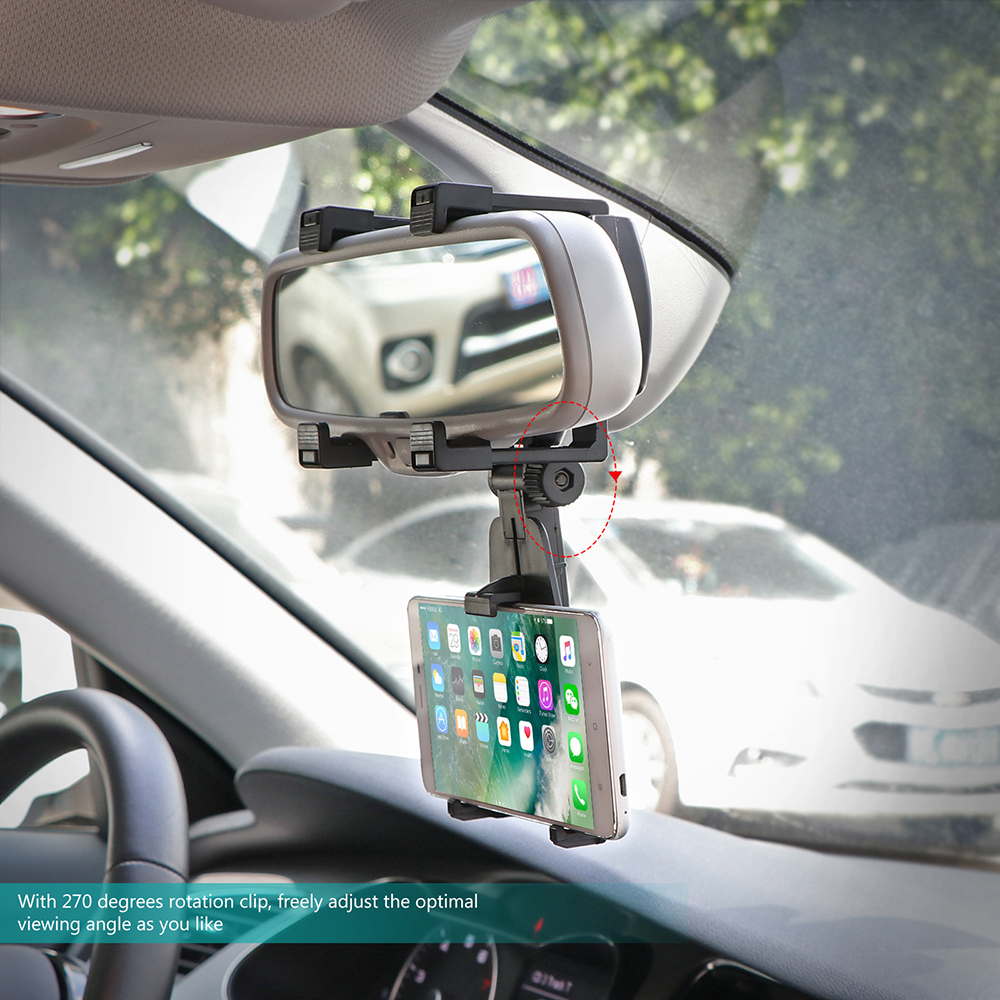Car Rearview Mirror Mounts Mobile Phone Holders Stands For Huawei Mate 10 Pro/Mate 10/Mate 10 Lite,Nova 2i,Honor 9i/7X,Maimang 6