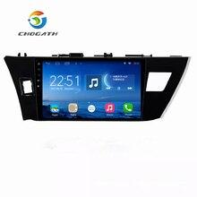"ChoGath 10,2 ""1,6 GHz Quad Core RAM 1 GB Android 6.1 Auto Radio GPS Navigation Player für Toyota Corolla 2014 2015 mit Canbus"