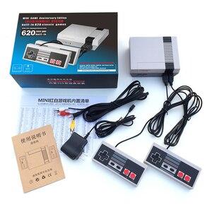 Image 5 - 8 bit Famiglia Classica Console di Gioco TV Sistema di Video Mini Giocatore del Gioco Palmare Console di Gioco Per NES Built In 620 Giochi