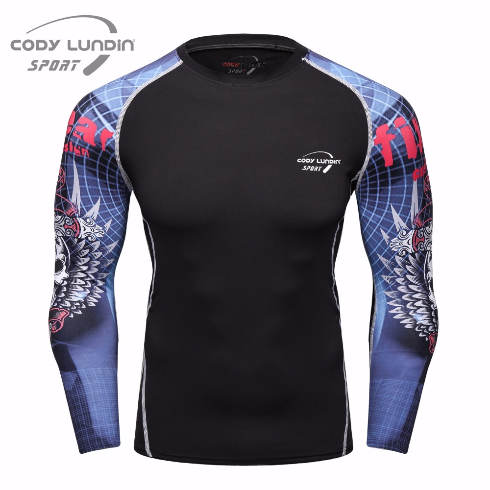 T-shirt da uomo e maglietta Stampa 3D T-shirt da palestra Fitness T-shirt da uomo Cody Lundin Maglietta fitness da uomo