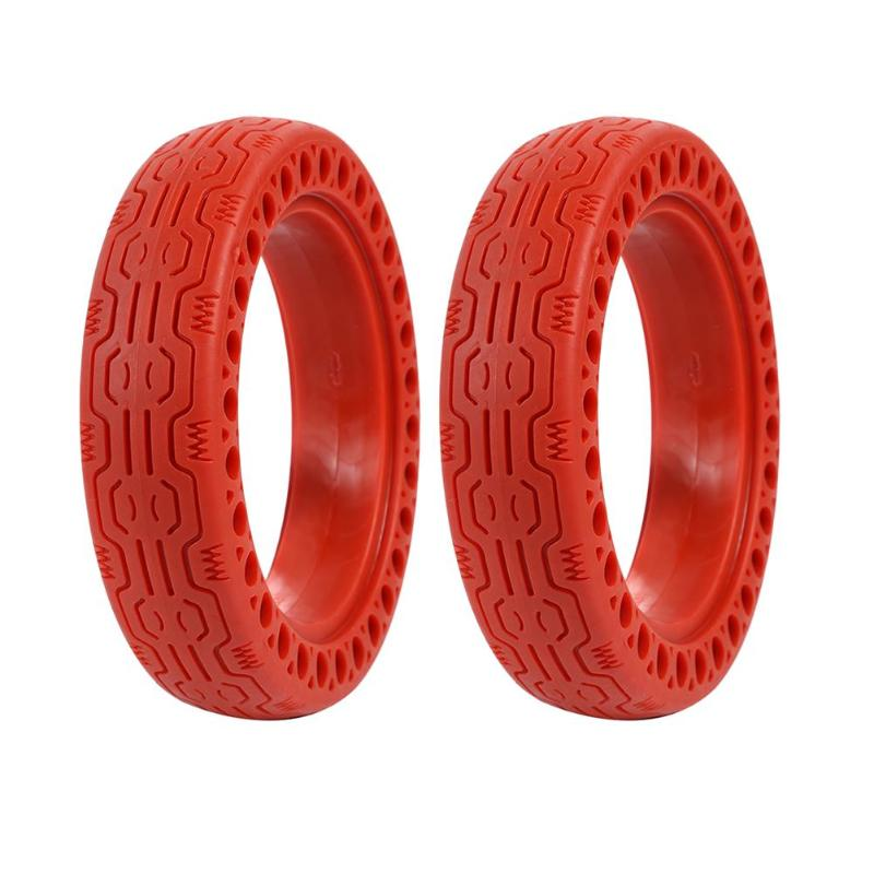 2pcs Upgraded Electric Scooter Tires 8.5 Inch Inflation <font><b>Wheel</b></font> Tyres For <font><b>Xiaomi</b></font> <font><b>Mijia</b></font> Scooter <font><b>M365</b></font> <font><b>Pro</b></font> Inner Tube Tyre Thicker image