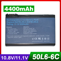 11 1V 10 8V 4400mAh Laptop Battery For Acer BATBL50L6 BATBL50L4 BT 00804 012 BATCL50L6 For