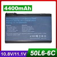 11 1V 10 8V 4400mAh Laptop Battery For Acer BATBL50L6 BATBL50L4 BT 00804 012 BATCL50L6 For