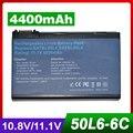 4400 мАч аккумулятор для ноутбука Acer TravelMate 2492 2493 4200 4202 BATBL50L4 BATBL50L6 BATCL50L6