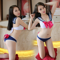 Japan And South Korea Sexy Underwear Swimsuit Sailor Uniforms Uniforms Temptation To Perform Services