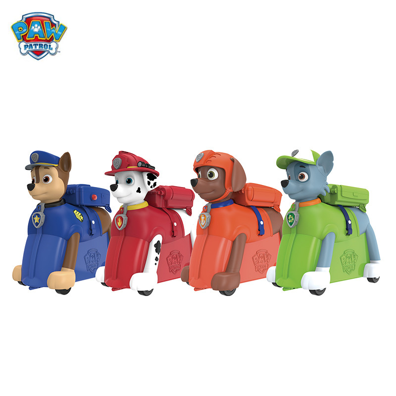 Paw Patrol Puppy Patrol Dog removable bag Backpack Riding box Action Figures Patrulla Canina Juguetes kids toys Genuine lps pet shop toys rare black little cat blue eyes animal models patrulla canina action figures kids toys gift cat free shipping