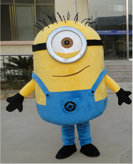 Minion Mascot Costume for Christmas Gift  Adult outfit