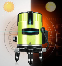 Laser Level 360 Rotation 2 Line Point Automatic Balance Outdoor Indoor Projector Receiver Tilt