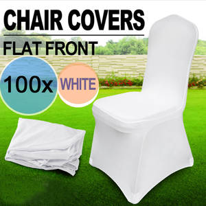 chair cover hire evesham home depot best covers wedding white brands 100 pcs stretch spandex for weddings seat