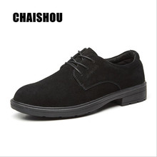 CHAISHOU shoes men Work Safety Shoes Breathable Steel Toe Cap Anti-smashing and puncture-proof safety Boots shoes CS-137