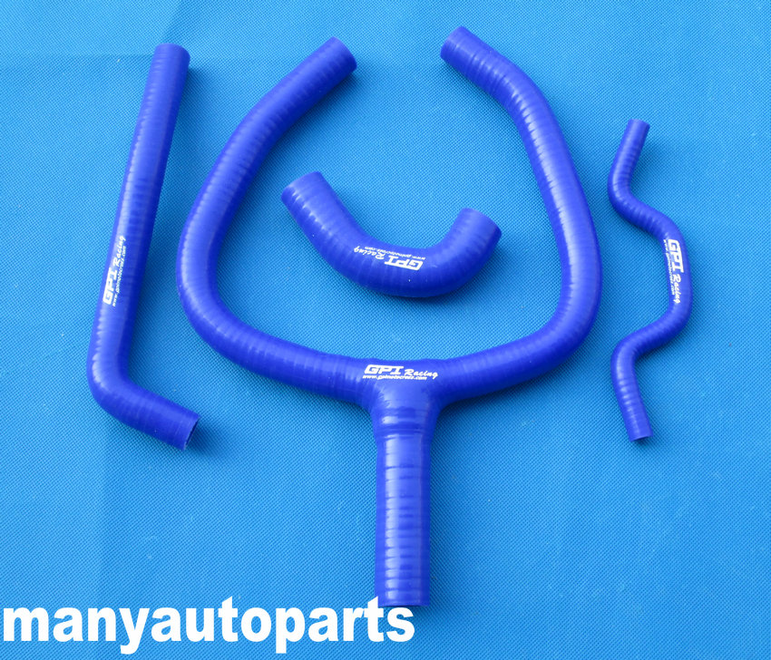 for KAWASAKI KXF250 KX250F 09 10 11 12 13 silicone Y HOSE BLUE KXF 250 blue