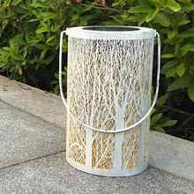 Solar Powered Garden Lights Hanging Holiday Tree Decorative Outdoor Solar Light Garden Yard Lawn Waterproof Solar-powered Lamp