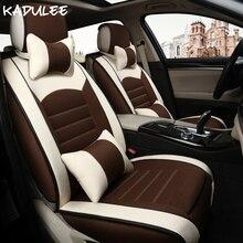 Kadulee универсальное автокресло крышка для VW Polo 6R Passat B5 B6 Гольф 4 5 6 7 Tiguan Jetta Touareg автомобилей автомобильные аксессуары