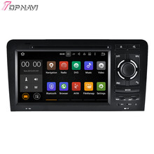 "7"" Quad Core Android 5.1.1 Car Radio For A3 2003 2004 2005 2006 2007 2008 2009 2010 2011 For Audi With GPS Stereo DVD Audio"