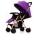 Venta caliente Carro de Bebé Puede Sentarse Puede Mentir Super Light peso Del Carro de Bebé Plegable Portátil Fácil Bebé Cochecito Paisaje de Alta cochecito de niño
