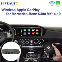 Joyeauto Wireless Apple Carplay Car play Retrofit S Class 15 19 NTG 5 W222 for Mercedes Android Auto Mirroring Rear Front CM