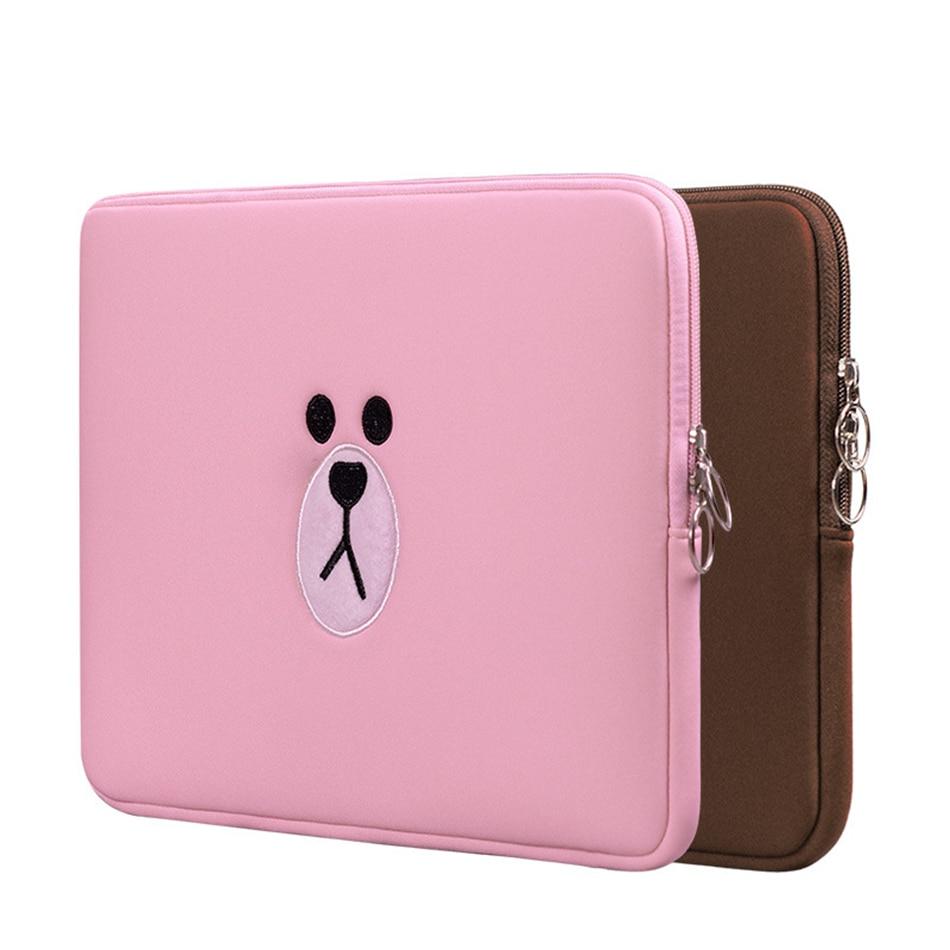 Cute Laptop Sleeve Bags Tablets Pouch Case Funda Apple