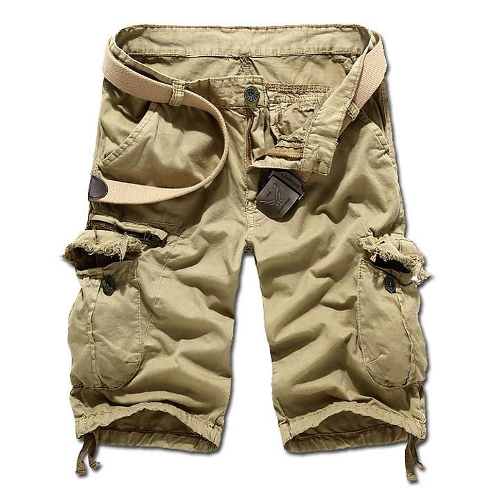 Cargo Kaki Shorts-Koop Goedkope Cargo Kaki Shorts loten van ...