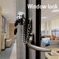 LHX AMMS85 스테인레스 창 도어 잠금 슬라이딩 유리 문 인테리어 디자인 아기
