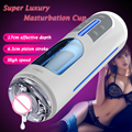 Leten A380 Luxury Automatic Male Masturbator,USB Rechargeable Male Hands Free Masturbators,Telescopic Sex Machine Adult Sex Toys