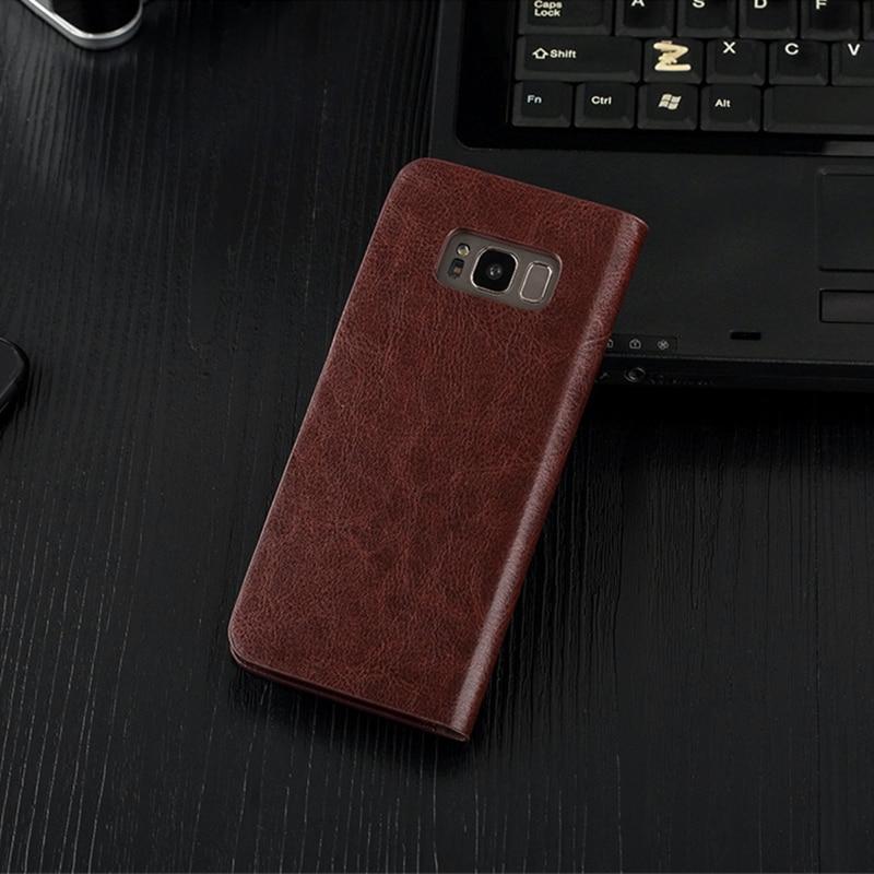 Case for S10e S9 + S8 Plus Musubo շքեղ կաշվե մատի - Բջջային հեռախոսի պարագաներ և պահեստամասեր - Լուսանկար 3