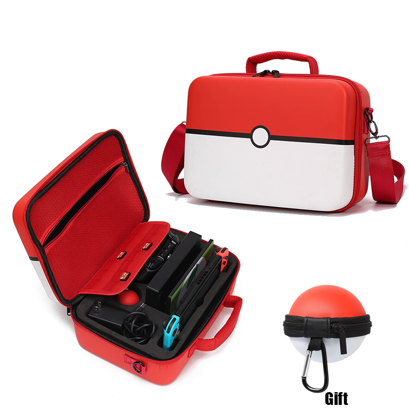 Pokeball Nintend Switch Case Accessories Pokemons Nintendoswitch Storage Hand Bag Nintendos Fashion Games Poke Ball Plus Bag