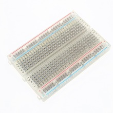 1 Pcs New 400 Tie Points Solderless PCB Breadboard Mini Universal Test Protoboard DIY Bread Board for Bus Test Circuit Board