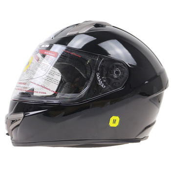 Fiber glass Shell full face helmet SNELL approved motocycle helmet SNELL M2015