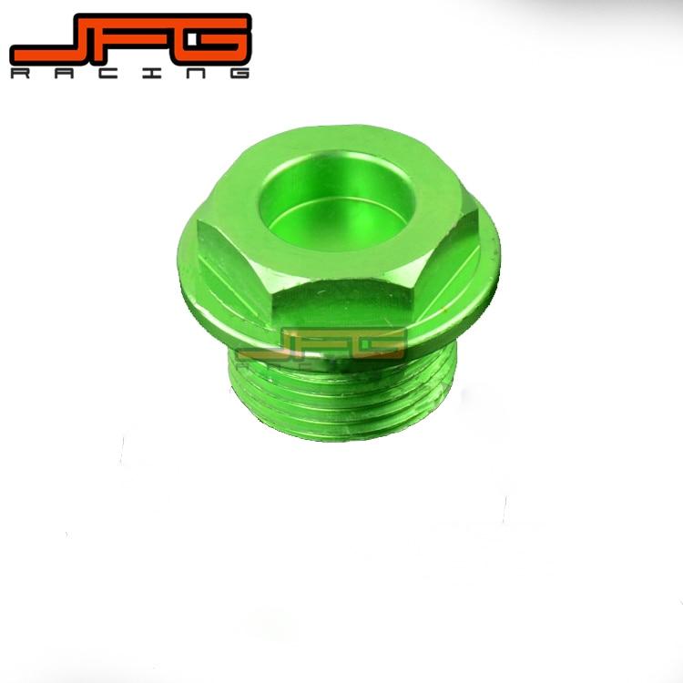 CNC Billet Oil Filler Plug For KX250 KX250F KX450F KLX450R KFX450R Dirt Bike Motocross Off Road Motorcycle Off Road