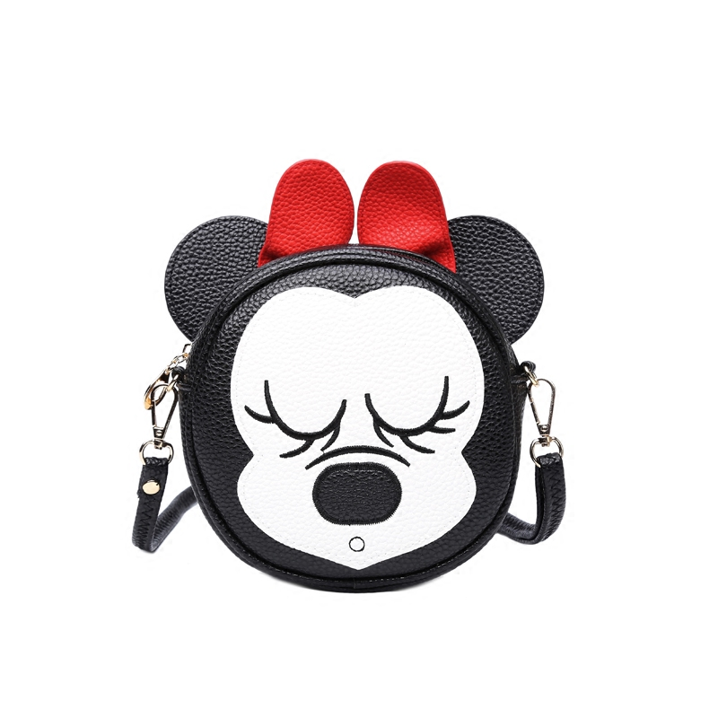 2017 Cartoon Messenger Bags Mini Cute Bag Children Kids Handbag Girls Shoulder Bag Purses Long Strap Wholesale girls mini messenger bag cute plush cartoon kids baby small coin purses lovely baby children handbags kids shoulder bags bolsa