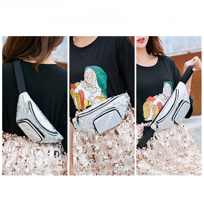 2019 Women Waist Fanny Pack Belt Bag Travel Hip Bum Bag Small Purse Chest Pouch Phone Pocket Hot