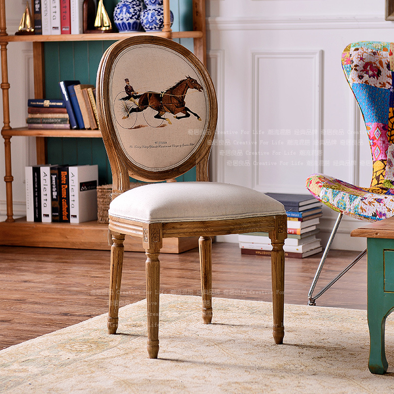 Etonnant Small British Style Wood Furniture Wood Color Equestrian Sidi Table Cloth  Chair Chairs Desk Chair On Aliexpress.com | Alibaba Group
