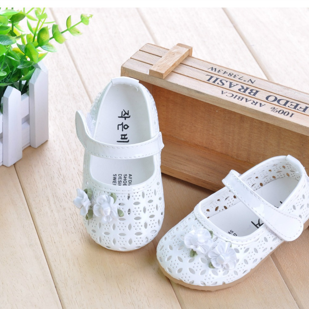 new toddler baby children wedding shoes cut out pr