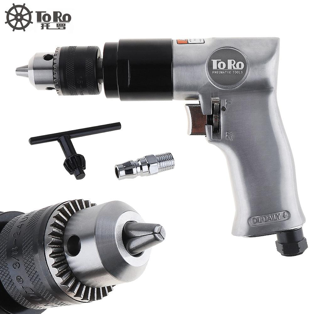 TORO TR 5100 3 8 1800rpm High speed Cordless Pistol Type Pneumatic Gun Drill Reversible Air