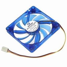 цена на 10 Pieces Computer PC Case 80x80x10mm 8cm 80mm 3 Pin Brushless 12V DC Cooler Fan