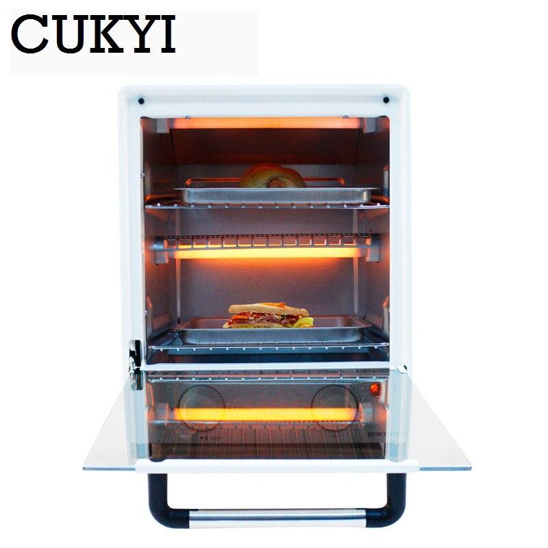 CUKYI appareils électriques verticaux commercial ménage multifonctionnel four four à poulet pizza grille-pain four cuisine - 3