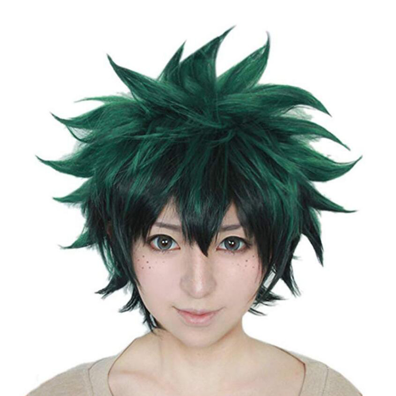 My Hero Academia Izuku Cosplay Wig