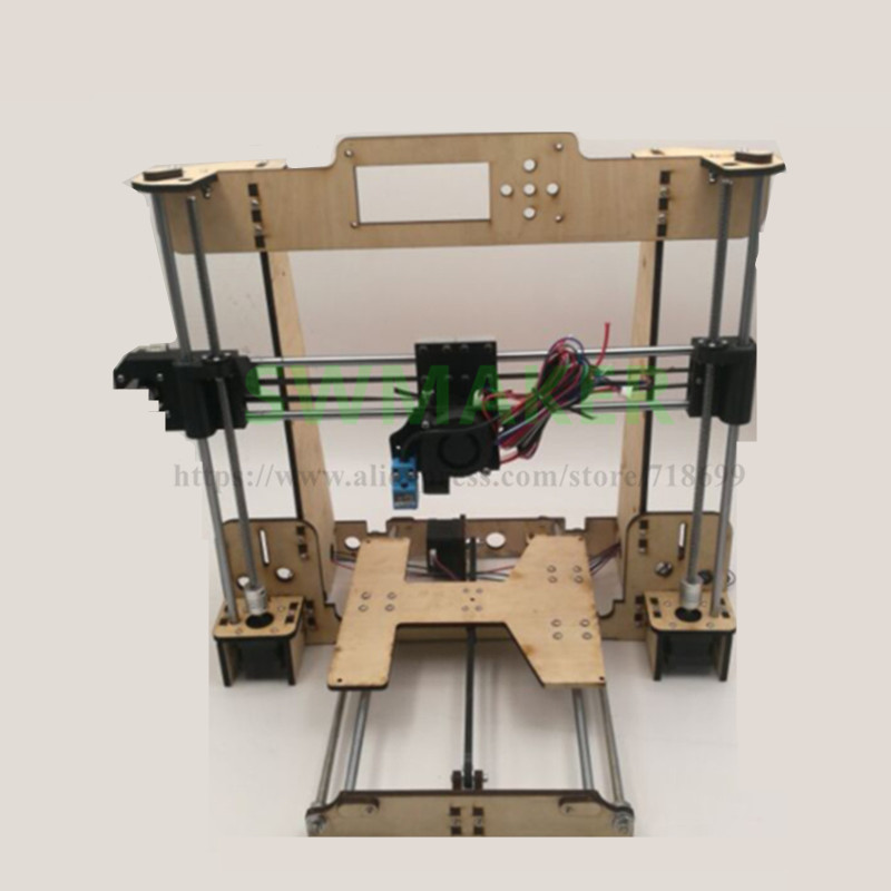SWMAKER 1set Reprap i3 Anet A8 /Hesine M505 /Tronxy 3D Printer clone Frame mechanical kit 6mm NEMA17 motor new anet e10 e12 3d printer diy kit aluminum frame multi language large printing size high precision reprap i3 with filament