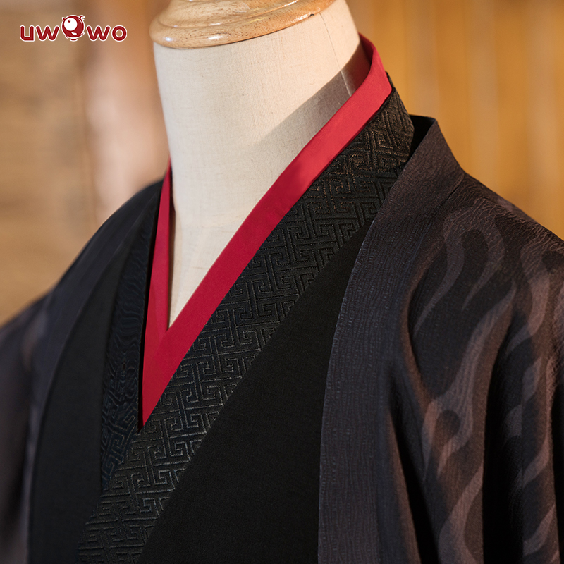 Image 3 - UWOWO Wei Wuxian The Yiling Patriarch Cosplay Grandmaster of Demonic Cultivation Costume Wei Wuxian Mo Dao Zu Shi Costume Men-in Anime Costumes from Novelty & Special Use
