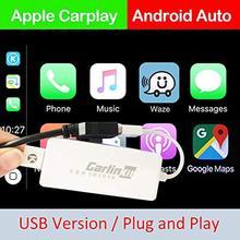 USB Smart Link Apple CarPlay ключ для Android навигационный плеер мини USB Carplay палка с Android Авто ссылка ключ