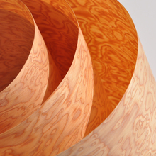 설계된 burl 나무 베니어