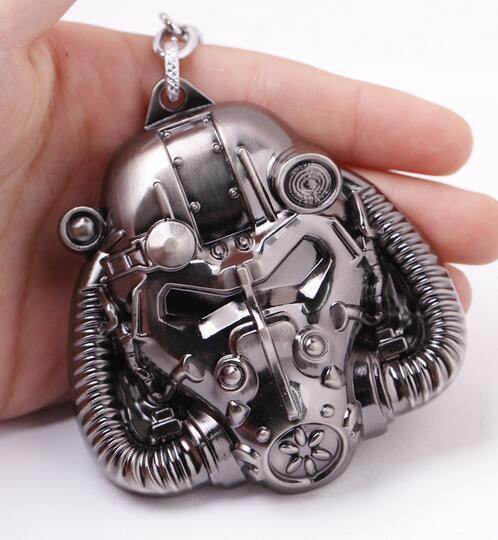 fashion Fallout mask Pendant necklace nuka cala Power Armor unisex Jewelry necklace Kids Souvenirs Fallout 4 Costume